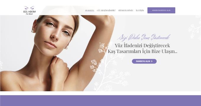 Gül Hekim Kaş Tasarımı Web Sayfa Tasarımı